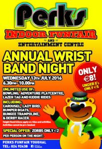 Wristband July 2016